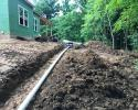 When you need sewage pipes installed, our excavating services can help you accomplish it!