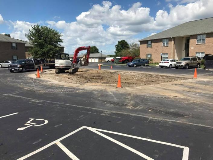 We can help get parking lots prepared for resurfacing and more!