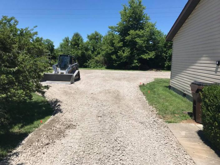 Ready for a gravel driveway? We can bulldoze and level your surface for amazing results!